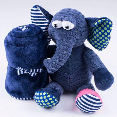 igračka slon i ćebe