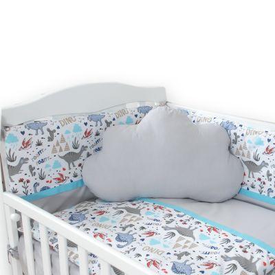 posteljina oblak DINO -SIVA