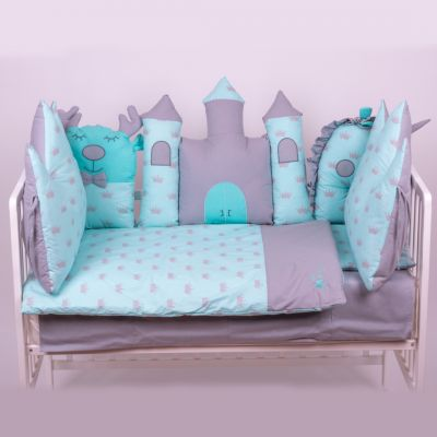 posteljina ogradica DVORAC TIRKIZ