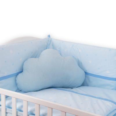 jednobojna plava oblak