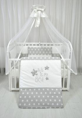 POSTELJINA moj krevet -Siva