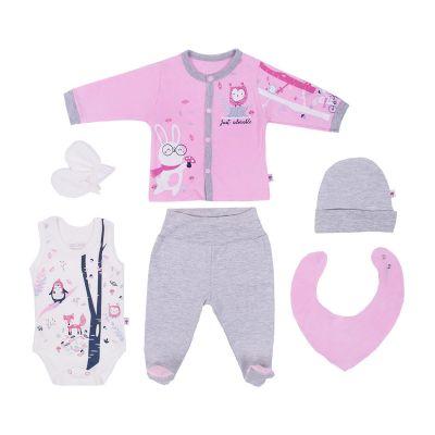 set ženski 6/1 pink